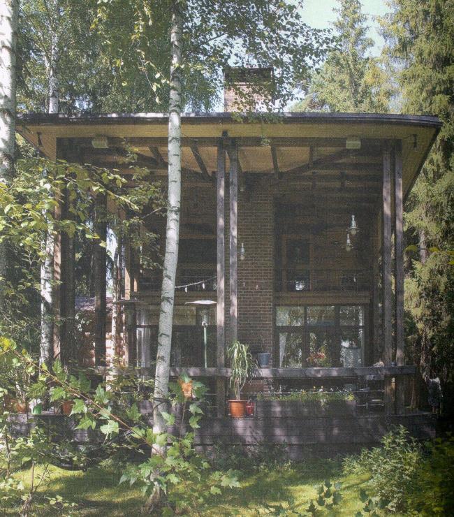 Дом площадью 50 кв. м. Архитектор: Дмитрий Долгой