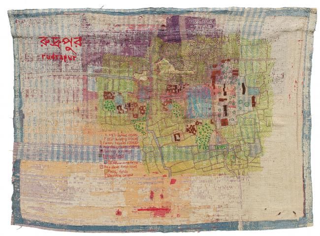 Мастер-план Рудрапура, Бангладеш (Masterplan Rudrapur, Bangladesh). Автор: Анна Херингер (Anna Heringer), Германия