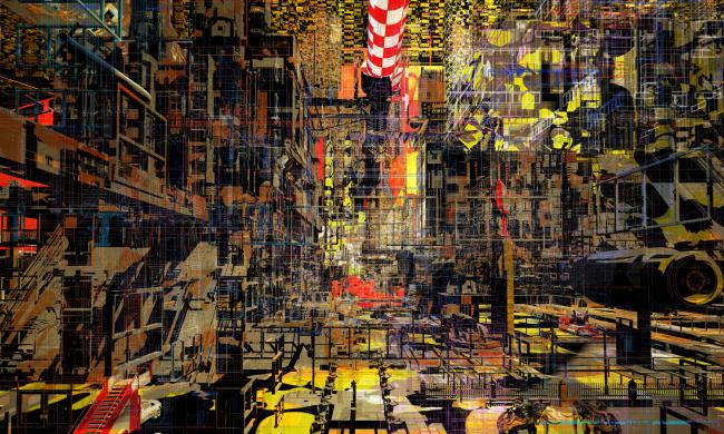 «Город в коробке: парадоксальные воспоминания» (City in a box: paradox memories). Автор: Антон-Маркус Пазинг (Anton Markus Pasing), Германия