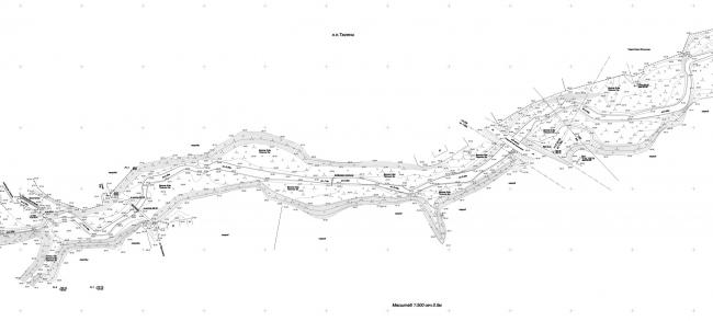 Топосъемка. Набережная реки Тюлячка