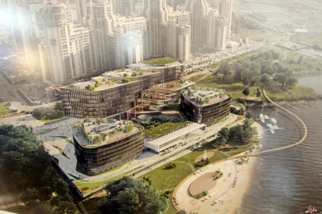 Проект нового здания для кампуса JetBrains в Санкт-Петербурге