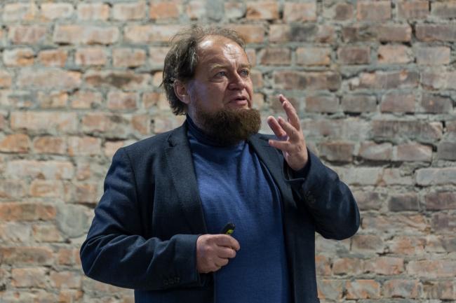 Никита Явейн. Выставка «Российская архитектура. Новейшая эра. Петербургская версия» в центре ArtPlay