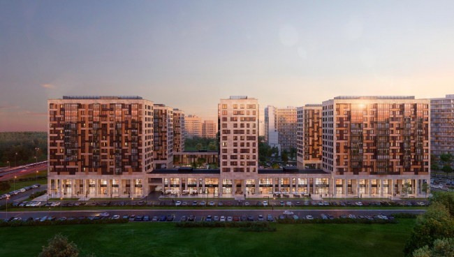 Жилой комплекс «LEGENDA Дальневосточного»