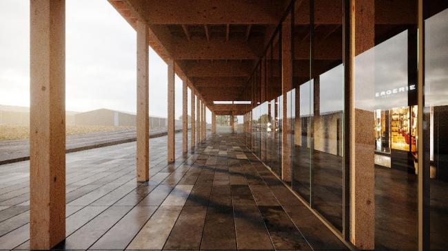 Галерея. Проект развития территории Мытищинской Ярмарки