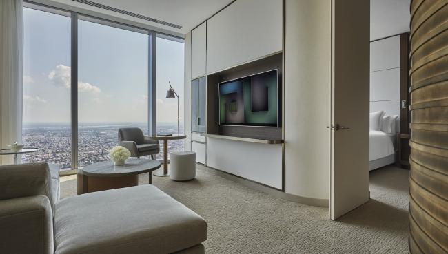 Four Seasons Hotel Philadelphia в Технологическом центре Comcast