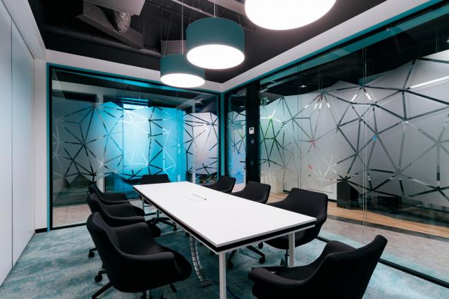 Переговорные комнаты. Офис Inspiritum