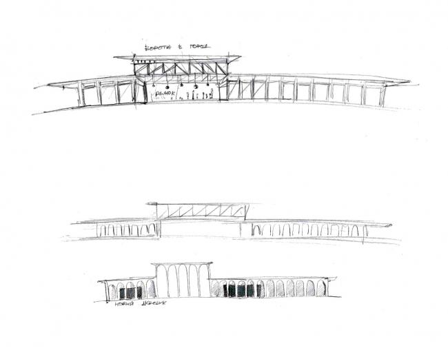 Легенда I. Новый акведук.  Проект развития территории Мытищинской Ярмарки