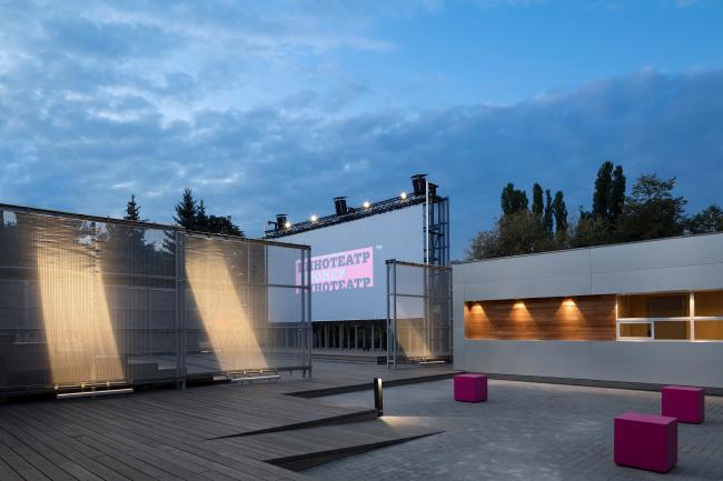Событийная площадь. Летний кинотеатр в парке искусств «Музеон»