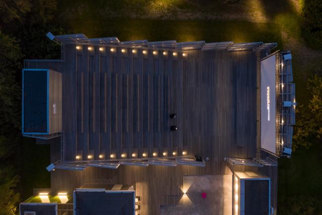 Летний кинотеатр в парке искусств «Музеон»