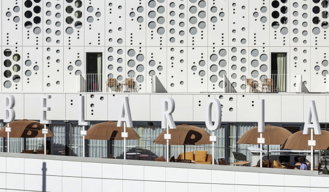 Гостиничный комплекс Le Belaroïa