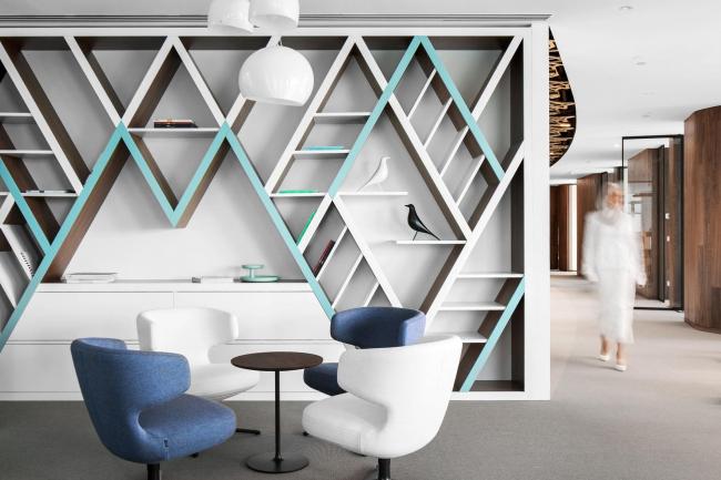 Интерьер офиса компании Mubadala, Москва. ABD architects