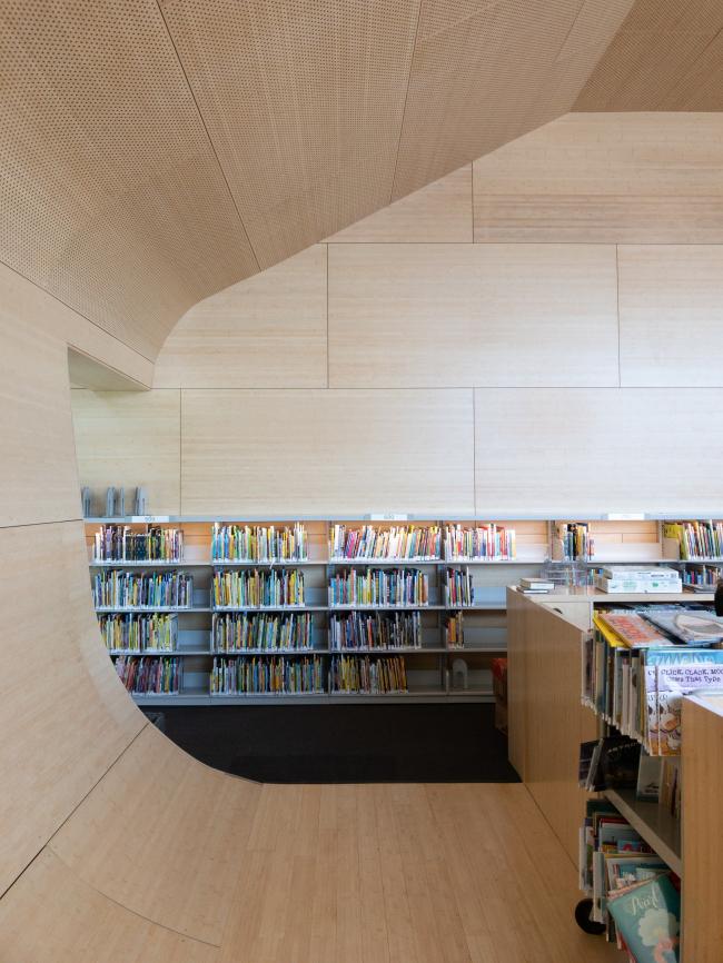 Библиотека района Хантерс-Пойнт
