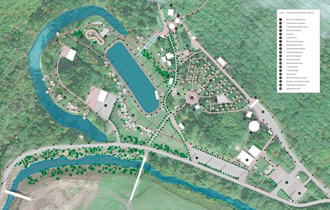 Генплан благоустройства территории «Святого ключа». Биляр – древняя столица Татарстана