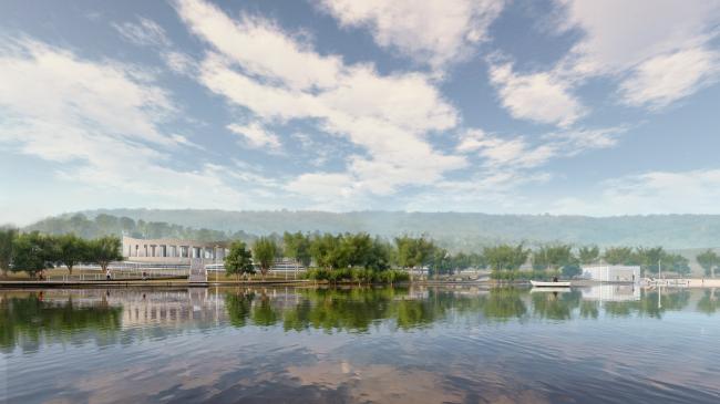 Туристический центр и лодочная станция на территории Сельского озера. Биляр – древняя столица Татарстана