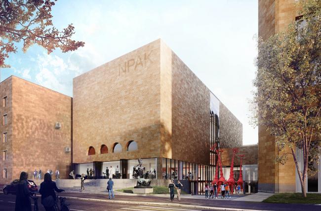Реконструкция центра современно экспериментального искусства NPAK