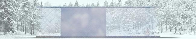 Дом Баян, Пирогово. Зима. Мастерская Тотана Кузембаева