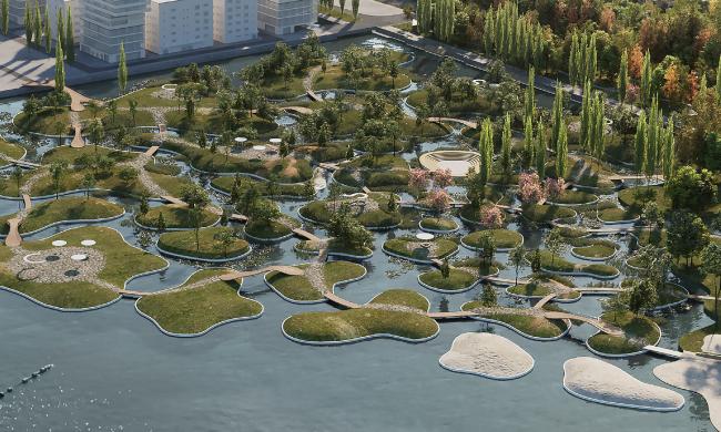 Концепция развития Петровской набережной в Воронеже