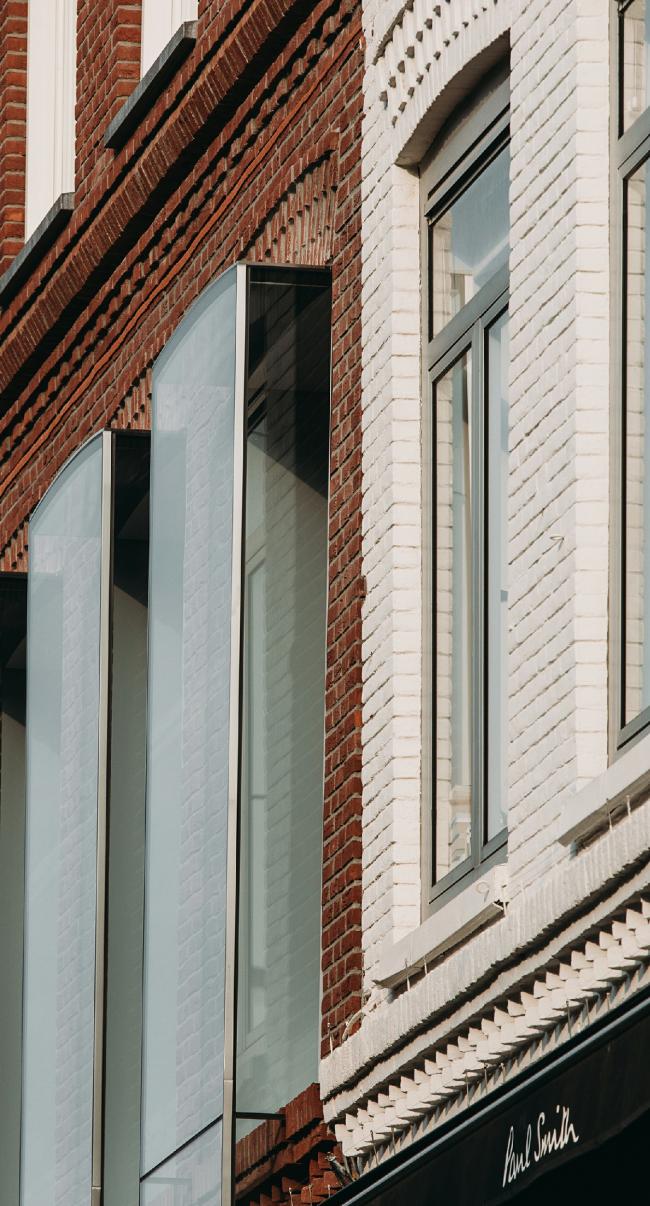 Проект «Зеркало» на улице Хофтстрат, 138. Амстердам