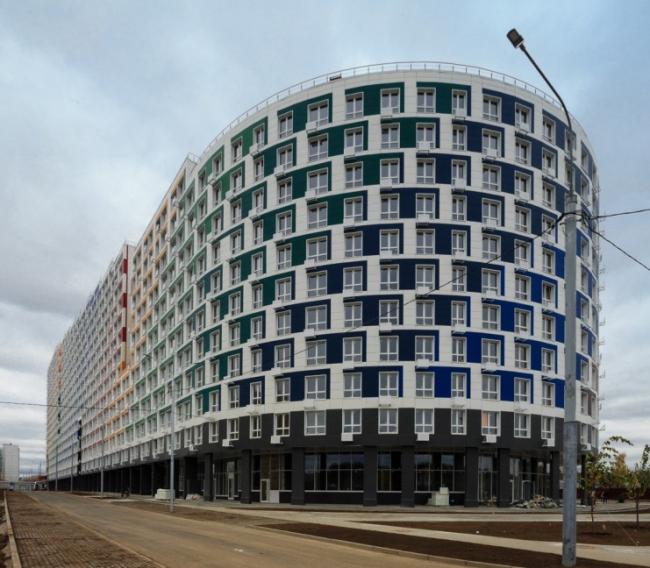 Многофункциональный жилой комплекс «Парад планет» в г. Королёв.