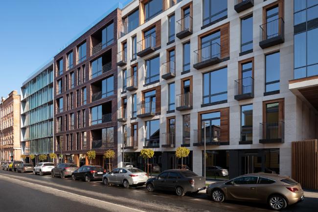 The housing project on the Malaya Ordynka Street
