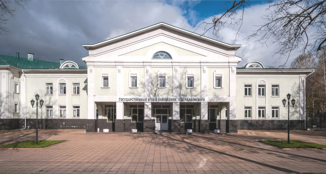 "The main theater and concert complex of the Moscow Region ""Tchaikovsky′s Universe"". The current state"