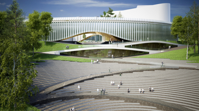 "The main theater and concert complex of the Moscow Region ""Tchaikovsky′s Universe""."
