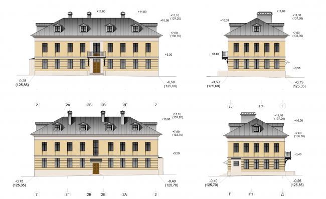 Дом дьякона, дом №2. ЖК «Меценат» в Кадашах