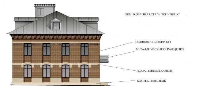 Материал отделки фасадов. ЖК «Меценат» в Кадашах