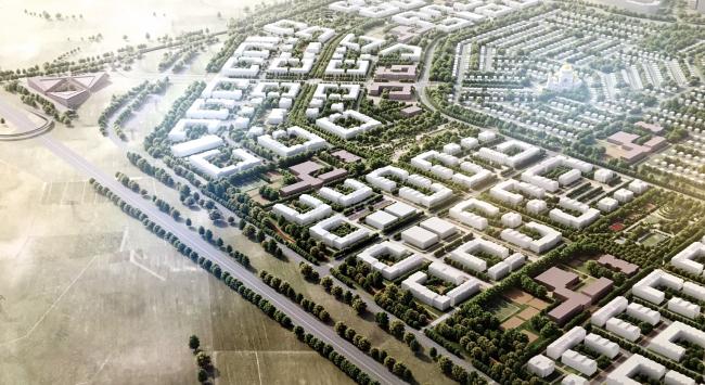 Эскиз проекта планировки и проекта межевания для Новой Ижоры