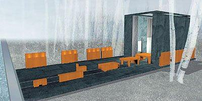 Дом-матрёшка («Экспресс»).  Концепция–Гари Чанг © Архитектурная мастерская Тотана Кузембаева