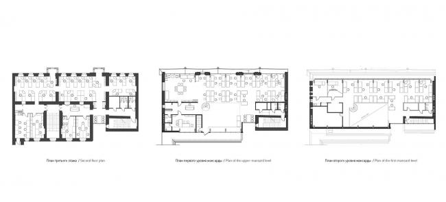Офис архитектурной мастерской «Студия 44»