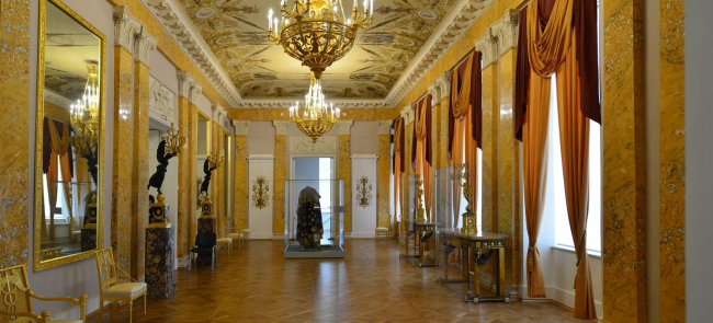 Музейный комплекс Государственного Эрмитажа в восточном крыле Главного Штаба