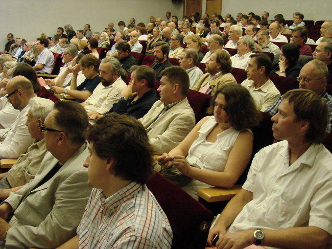 Фотографии с учредительного собрания НП ГАРХИ: зал