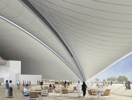 Музей современного арабского искусства. Кафе