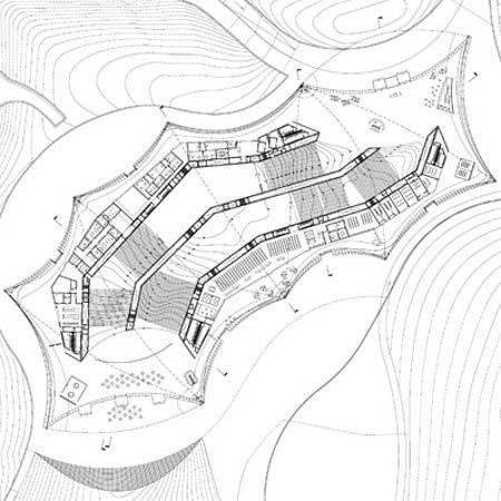 Музей современного арабского искусства. План 1-го этажа