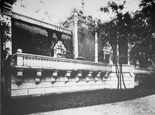 Павильон России на биеннале, 1914