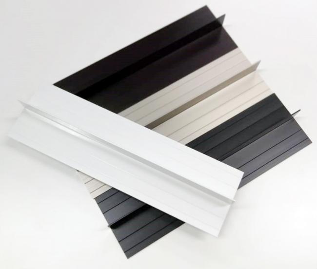 Новая узкая вертикальная стыковочная планка KMEW для высотной серии панелей Серадир V