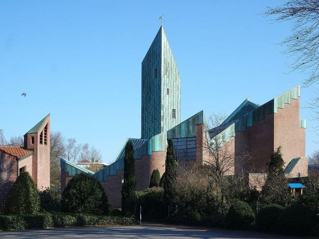 Церковь Св. Павла в Бохольте. 1966