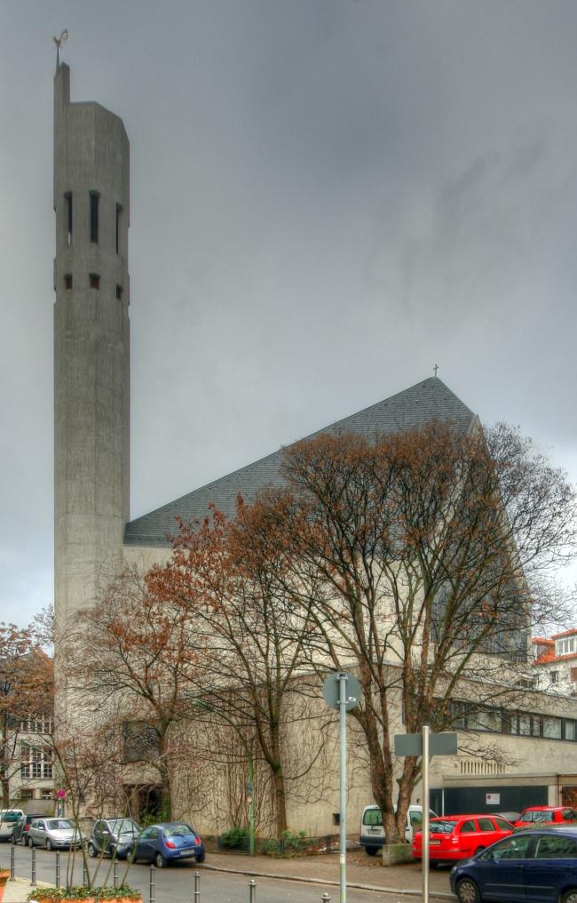 Церковь Св. Игнатия во Франкфурте-на-Майне. 1964