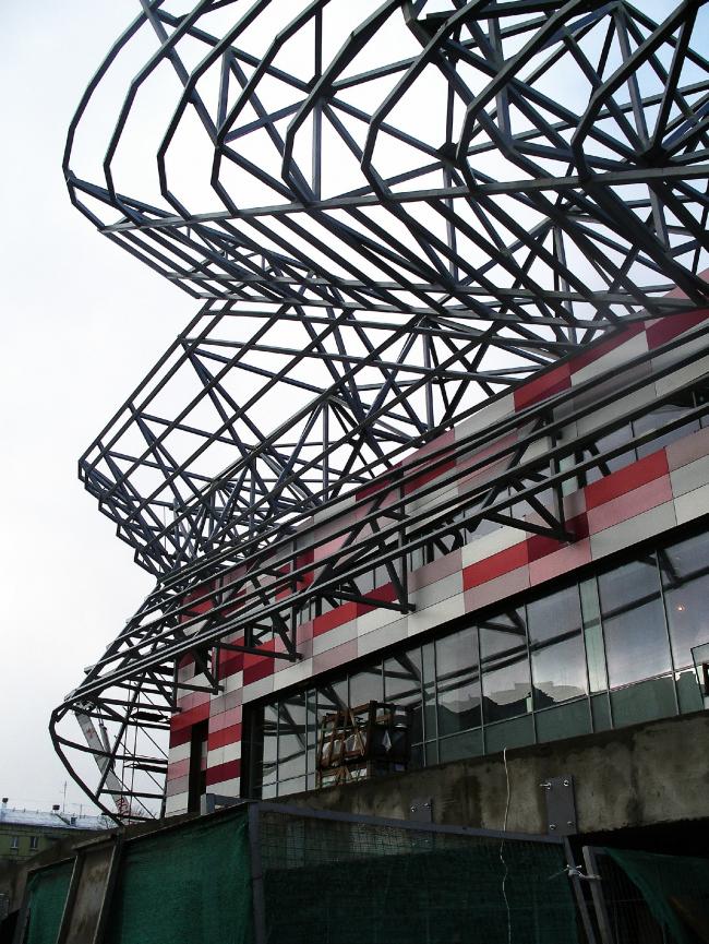 Реконструкция фасадов для Московского молодежного центра «Планета КВН»