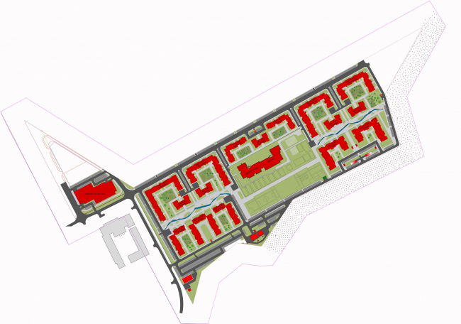 Жилой комплекс «Миниполис Дивное». Архитектурная концепция. Генплан.