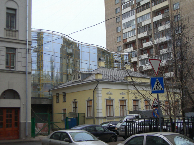 Реконструкция административного здания с реставрацией и новым строительством, Гагаринский пер., вл. 24 © ПТАМ Хазанова