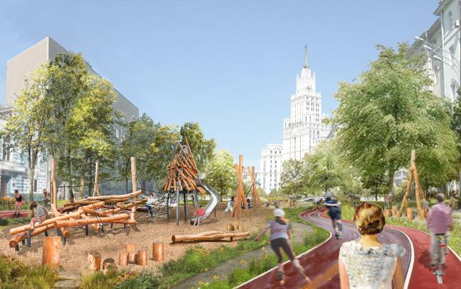 «Парк второго кольца». Автор: Дарья Бычкова