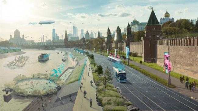 «Общественные пространства на набережной». Автор: Яня Аляскарова