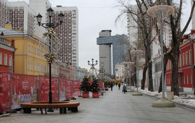 Благоустройство Школьной улицы, 02.2020