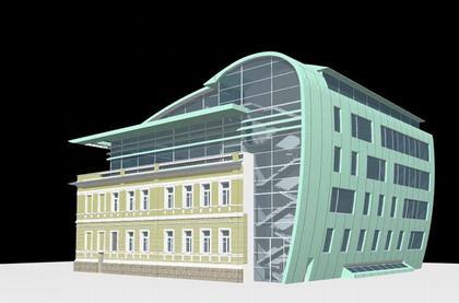Проект реконструкции здания Союза архитекторов России