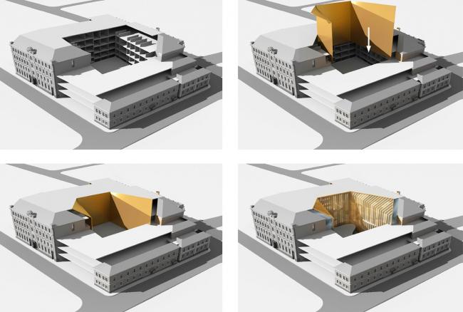 Жилой комплекс с гостиницей и подземной автостоянкой на Б. Никитинской 2015 г