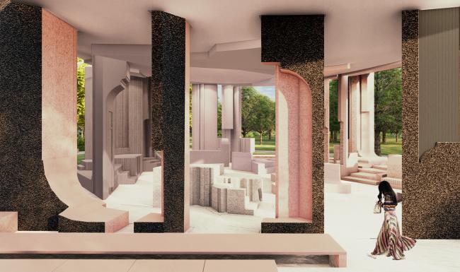 Летний павильон галереи «Серпентайн» 2020