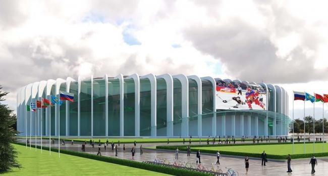 Проект реконструкции СКК «Петербургский»