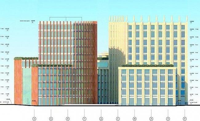 Офисно-деловой многофункциональный комплекс на Озерковской наб.